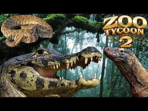 Zoo Tycoon 2: Reptile House Exhibit Speed Build 2