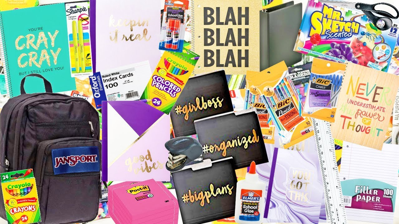 Back to school book bag giveaways