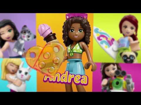 Lego Friends Heartlake Summer Pool 41313 Youtube