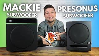 Which Subwoofer Under $200 Fits Your Home Studio Setup?! | Mackie CR8S-XBT VS Presonus Eris 8