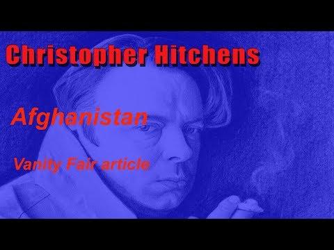 Afganistan - Christopher Hitchens