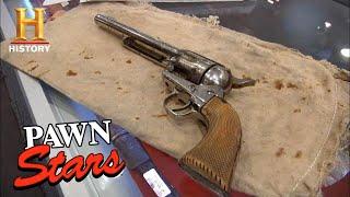Pawn Stars: INFAMOUS WILD WEST REVOLVER Killed Jessie James *$250,000 PRICE!* (Season 8) | History YouTube Videos