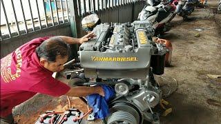 Chạy thử động cơ YANMAR 6CX 290 PS