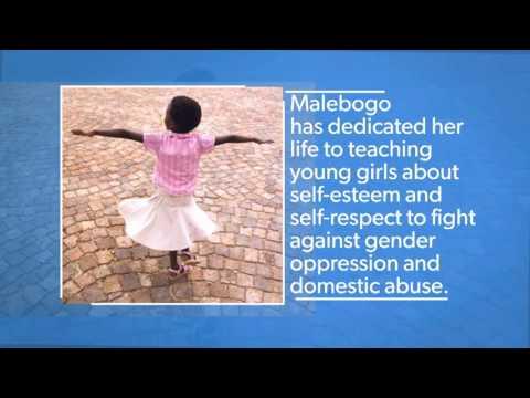 International Women of Courage:  Malebogo Molefhe - Botswana