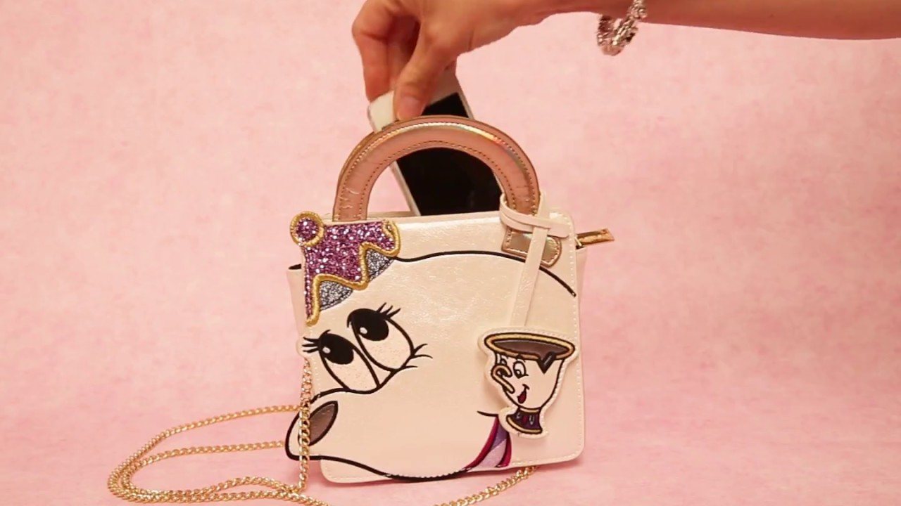 57567f421 Disney Beauty And The Beast Mrs Potts Handbag | TruffleShuffle - YouTube
