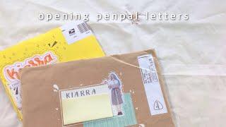 � opening penpal letters #1