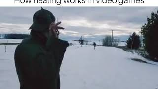 How fortnite players heal in real life