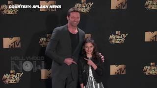 LOGAN Hugh Jackman & Dafne Keen Adorable Together At MTV Movie & TV Awards 2017