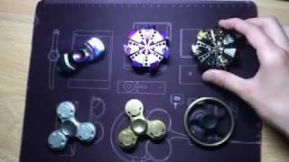 6 Fidget Hand Spinner Test