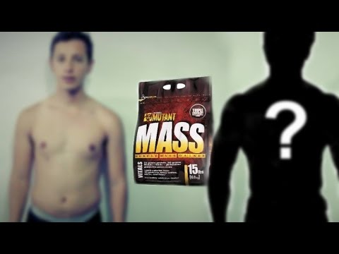 PROBANDO MUTANT MASS GAINER | Aumento de masa muscular| Día 0| Ectomorfos