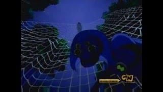Ben 10 Alien Force Gwen get webbed