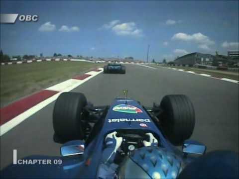 2001 European GP Onboard Highlights
