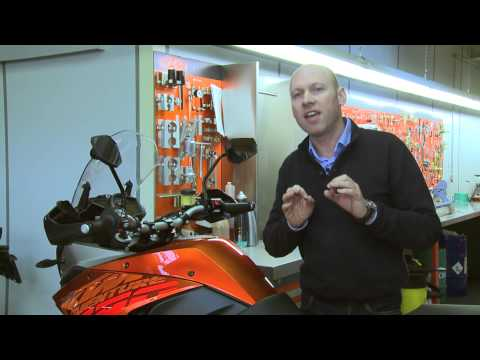 KTM 1190 Adventure Features & Benefits - English
