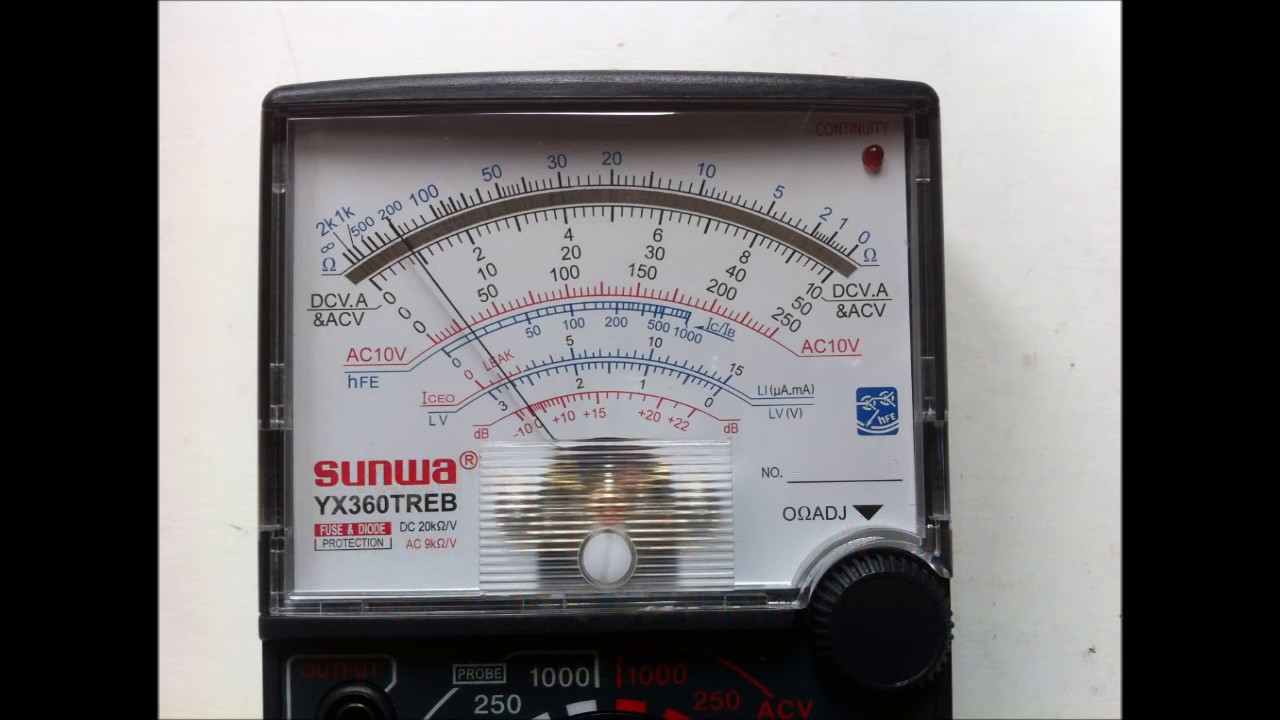 How To Useog Multimeter Amp