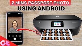 Create Studio Like Passport Photo Using Android in 2 Mins