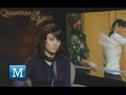 007 Interview : Olga Kurylenko (Bond Babe) - Centurion, The Cross, There be Dragons