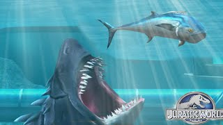 Jurassic World The Game: Megalodon - The Aquatic Shark