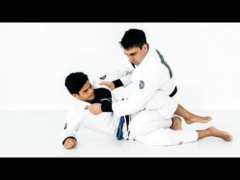Gui Mendes | Armbar Setup from Leg Drag Position | artofjiujitsu.com