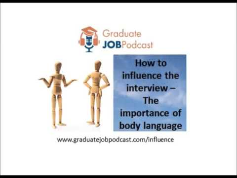 How to Influence the Interview - (The importance of body language) - Chris Delaney #28