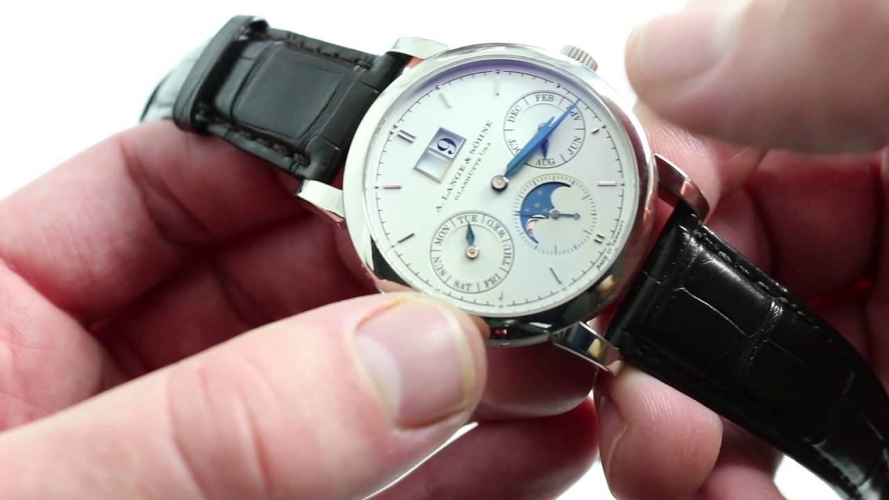 Pre-Owned A. Lange & Sohne Langematik Perpetual 310.021 Luxury .