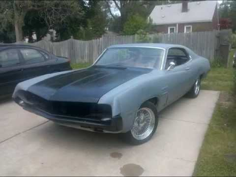 1970 ford fairlane 500 project torino 2 youtube. Black Bedroom Furniture Sets. Home Design Ideas