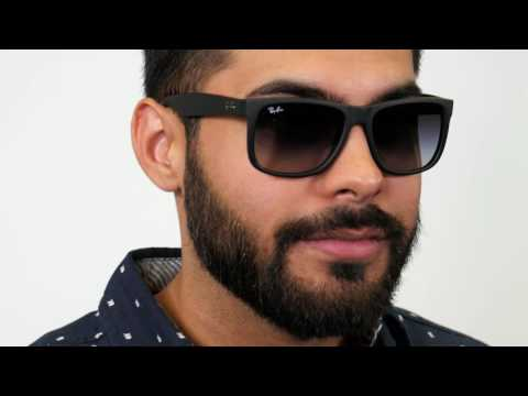 Ray Ban Rb4165 Justin Sunglasses Youtube