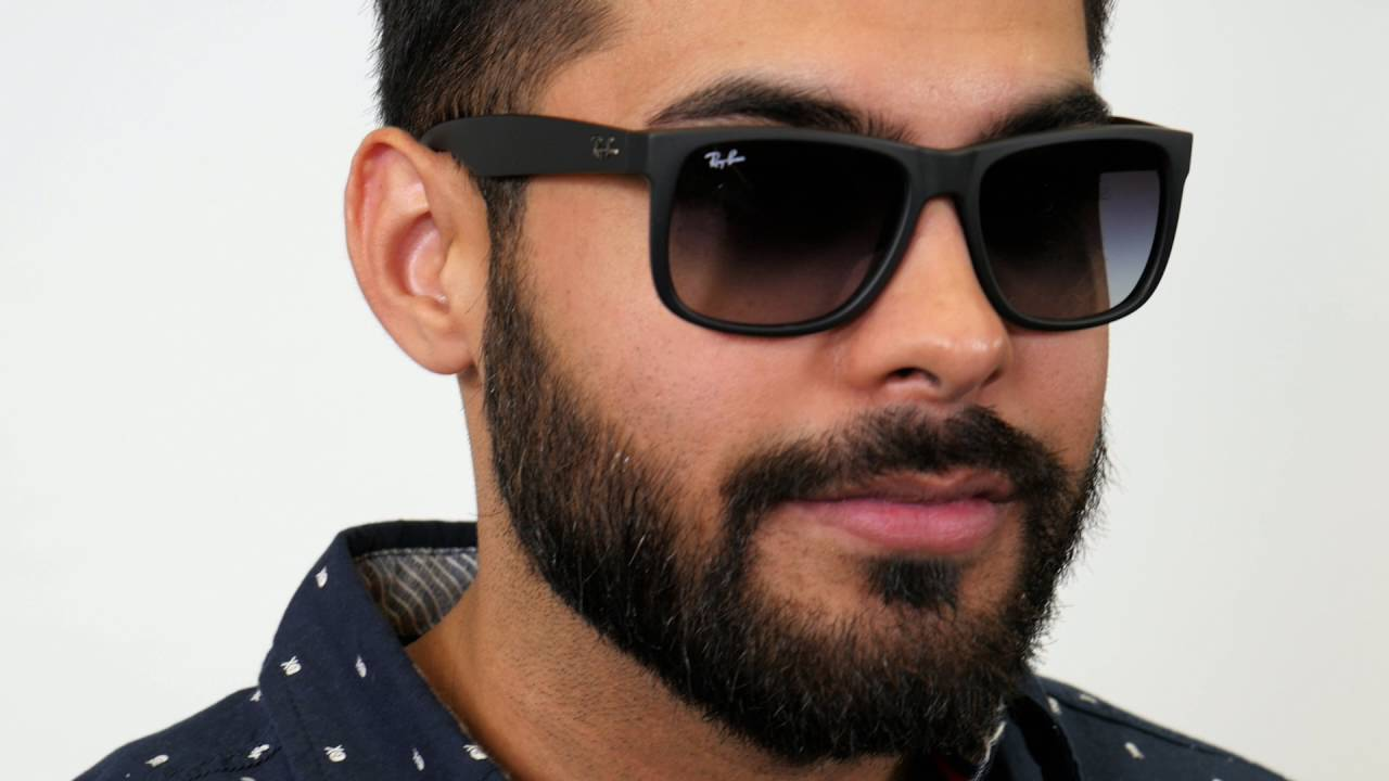 a99023d5a7aec6 Ray-Ban RB4165 Justin Sunglasses - YouTube