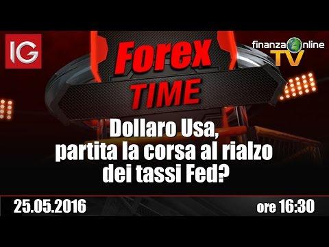 Forex Time - Dollaro Usa, partita la corsa al rialzo dei tassi Fed?