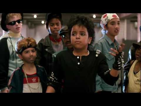 Michael Jackson  Bad Badder  Kids Version HD