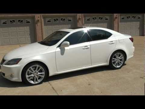 sold 2006 lexus is 350 37k miles navigation crystal white for sale see www sunsetmilan com. Black Bedroom Furniture Sets. Home Design Ideas