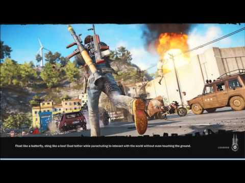 Just Cause 3 Easter Eggs