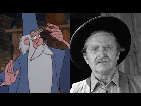 The Sword in the Stone 1963 Voice Actors Cast and Characters
