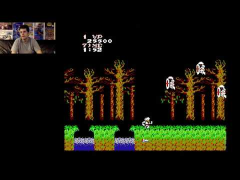 "Ghosts 'n Goblins (NES) Full Playthrough ""Real Ending"""
