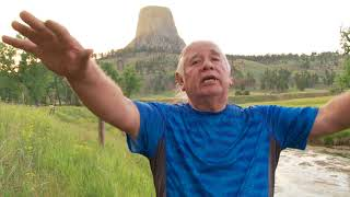 "Dakota Chief Explains that Grey Horn Butte, aka ""Devils Tower"" is an Ancient Tree Stump"