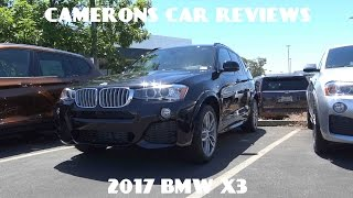 2017 BMW X3 2.0 L Turbo 4-Cylinder Review | Camerons Car Reviews