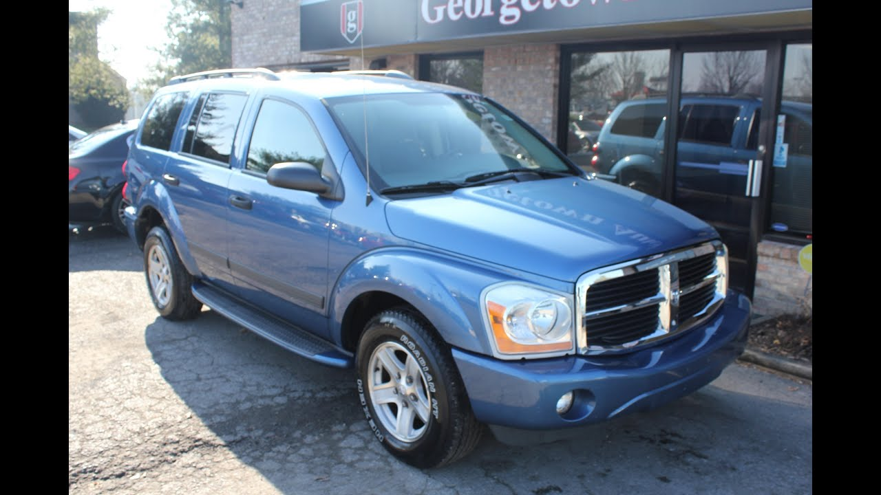 used 2006 dodge durango slt 4wd dvd for sale georgetown. Black Bedroom Furniture Sets. Home Design Ideas