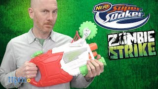 Nerf Super Soaker Zombie Strike Ripstorm and Dreadsight from Hasbro