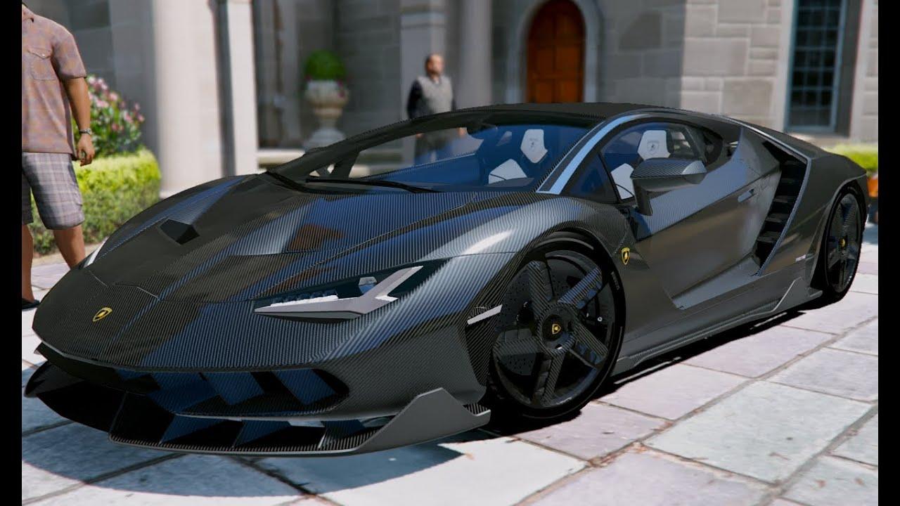Gta V Lamborghini Centenario Gta 5 Mod Youtube