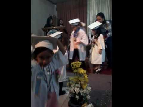 My Living Angel_Faith Lara_Kinder 1 graduation @ Blessed Hope Christian Academy