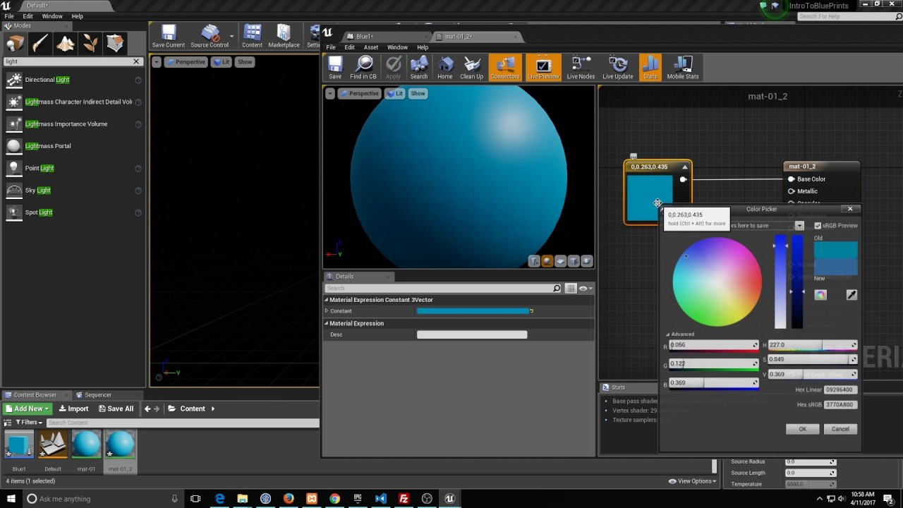 Ue4 blueprints 101 creating your first construction script and event ue4 blueprints 101 creating your first construction script and event malvernweather Choice Image