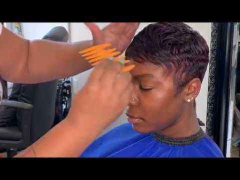 *Highly requested* Detailed Relaxer and pixie cut tutorial   | 90 cut