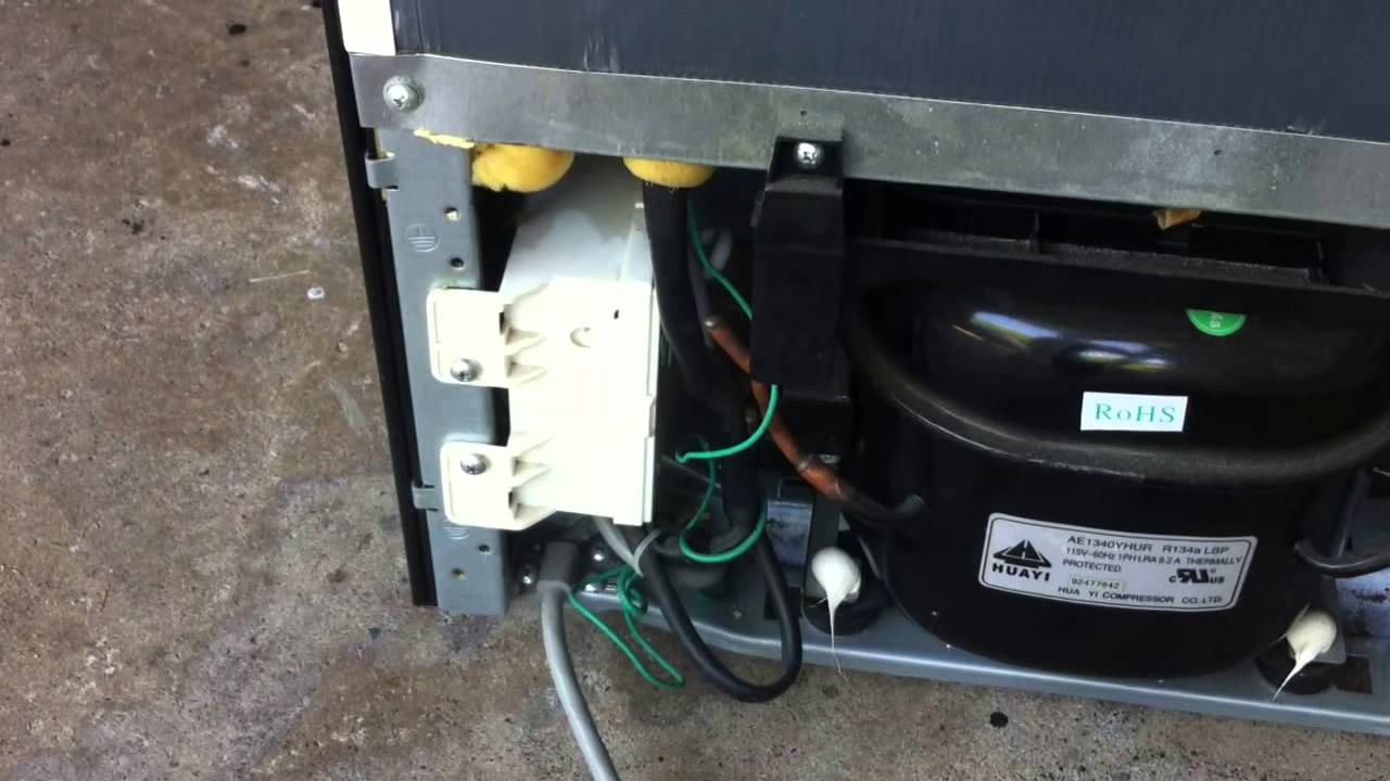 easy refrigerator fix reset defrost timer switch if it stops running cooling or working youtube [ 1280 x 720 Pixel ]