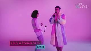 Download fake - Conan Gray & Lauv performance