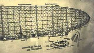 Schematic of the USS Shenandoah (ZR-1). The first Helium rigid airships. 1923 - Moffett Museum -6