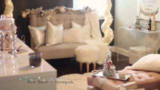 Decorate With Me For Christmas 2016 - Decorating Ideas For A Small Room - MissLizHeart