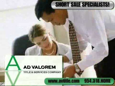Title Insurance, Plantation, FL. Short Sell, Weston, Closing