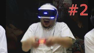 نظارة الواقع الإفتراضي | المرعبه إنتيل داون | رعب فوق الوصف!! #2
