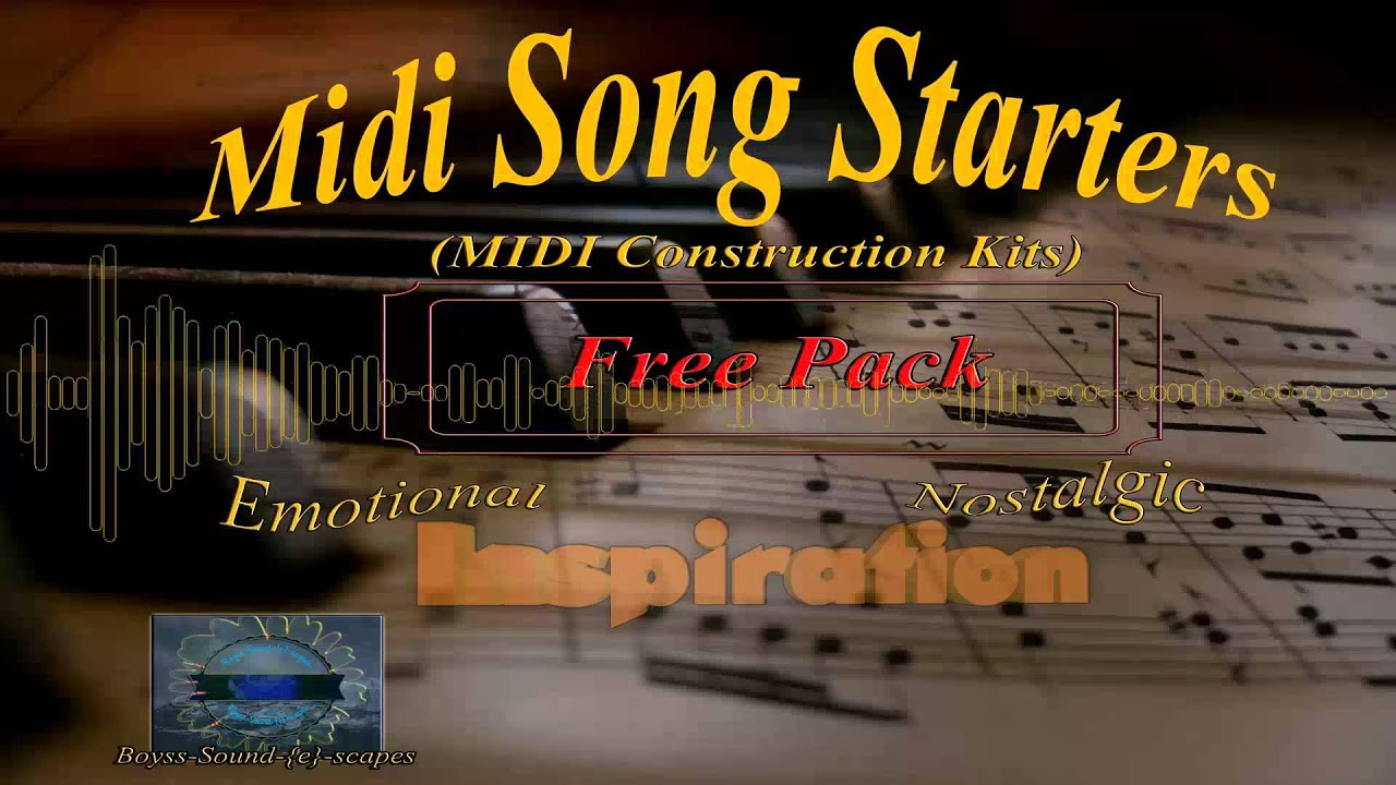 MIDI Song Starters | Sound Libraries | Sampleism