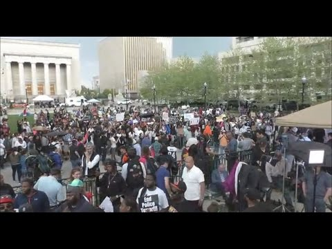 LIVE: Freddie Gray protests sweep Baltimore