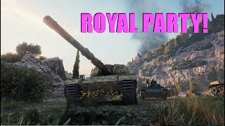 WOT - A Royal Party | World of Tanks